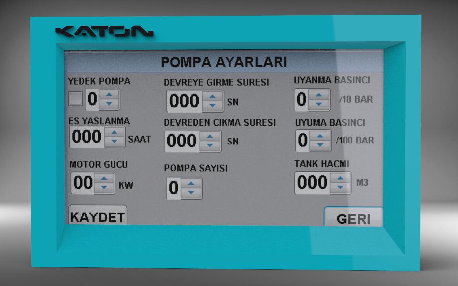 Hidrofor Sirkülasyon Kontrol Cihazları